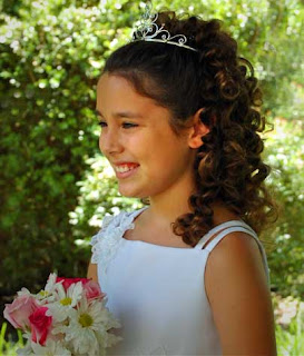 flower girl tiara