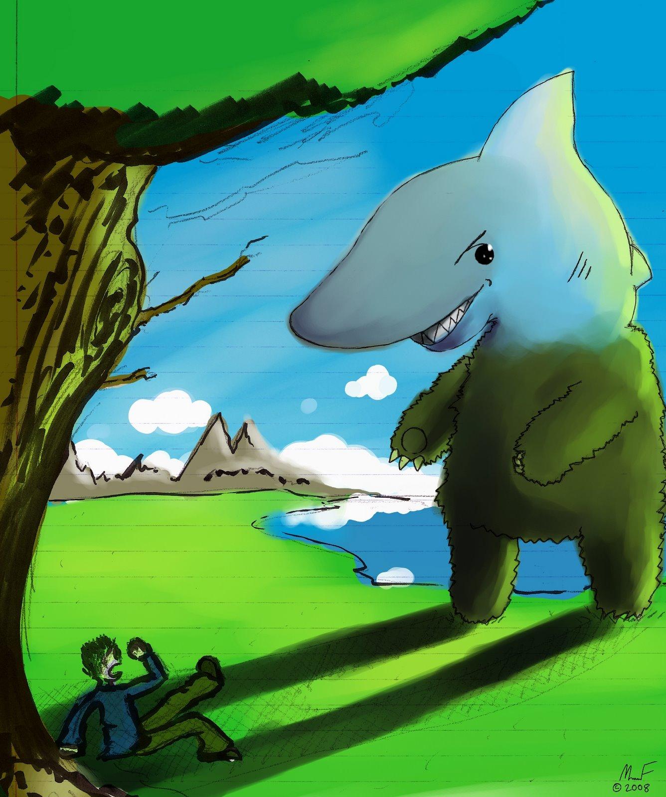 [Shark+Bear]