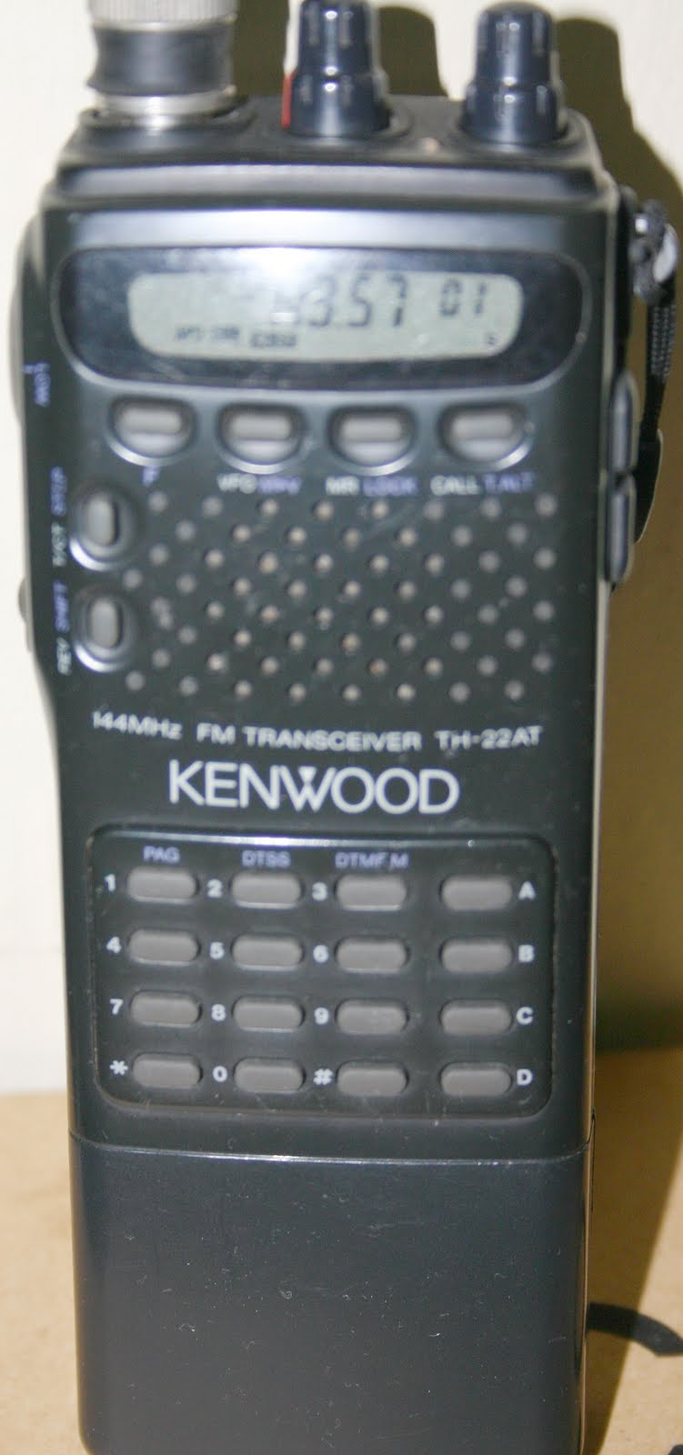 Kenwood radio amateur ht