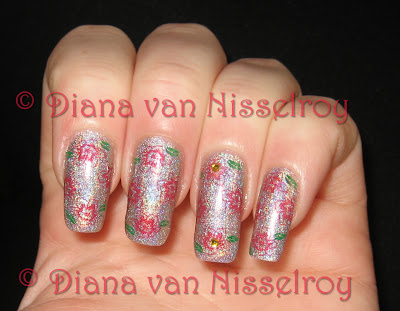 Diana Visit Me In Prism With Nail Art