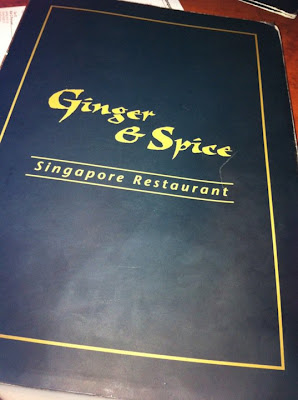 Ginger and Spice Singapore Restaurant