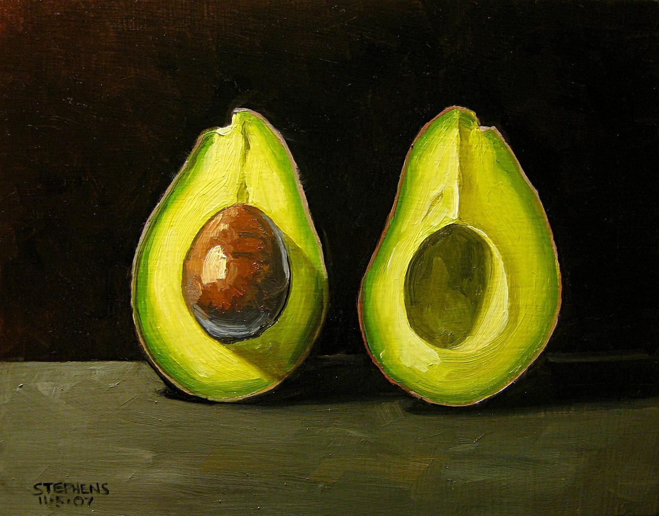 Avocado Acrylic Paint