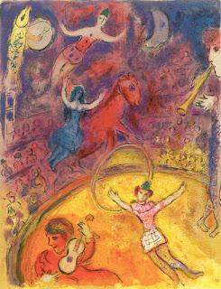 Marc Chagall - Le Cirque