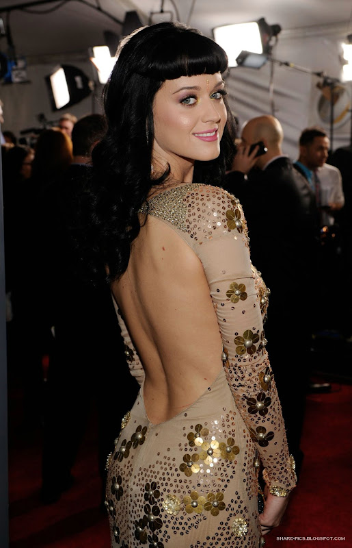 katy perry in 52nd Grammy Awards 2010 Los Angeles