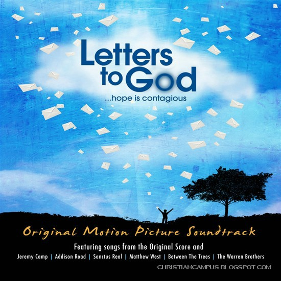 LETTERS TO GOD SOUNDTRACK SONG LIST