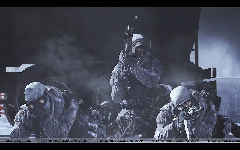 modern warfare 2 HQ screenshots