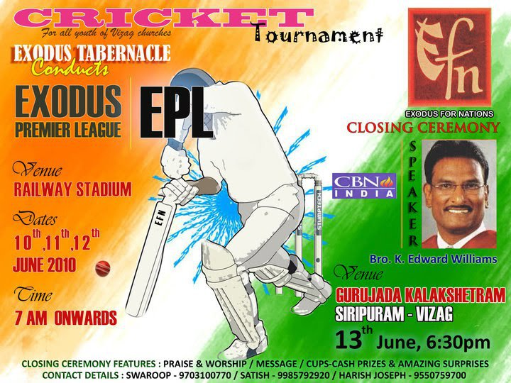 Exodus Premier League Cricket Tournament
