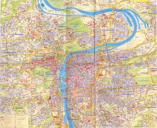 Туристическая карта Праги