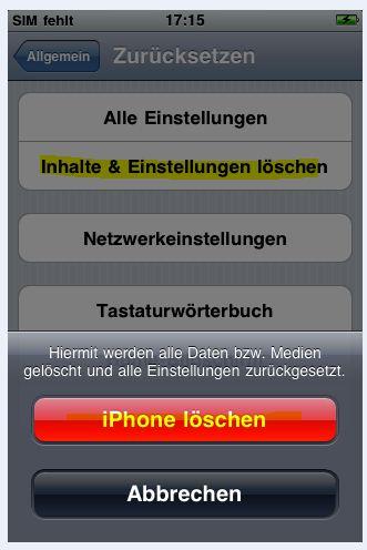 IPHONE 5 GEHT DIE GANZE ZEIT AUS UND WIEDER AN