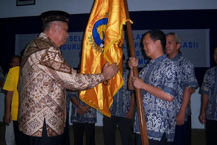 Pelantikan Pengurus PERCASI Kota Balikpapan periode 2007-2012
