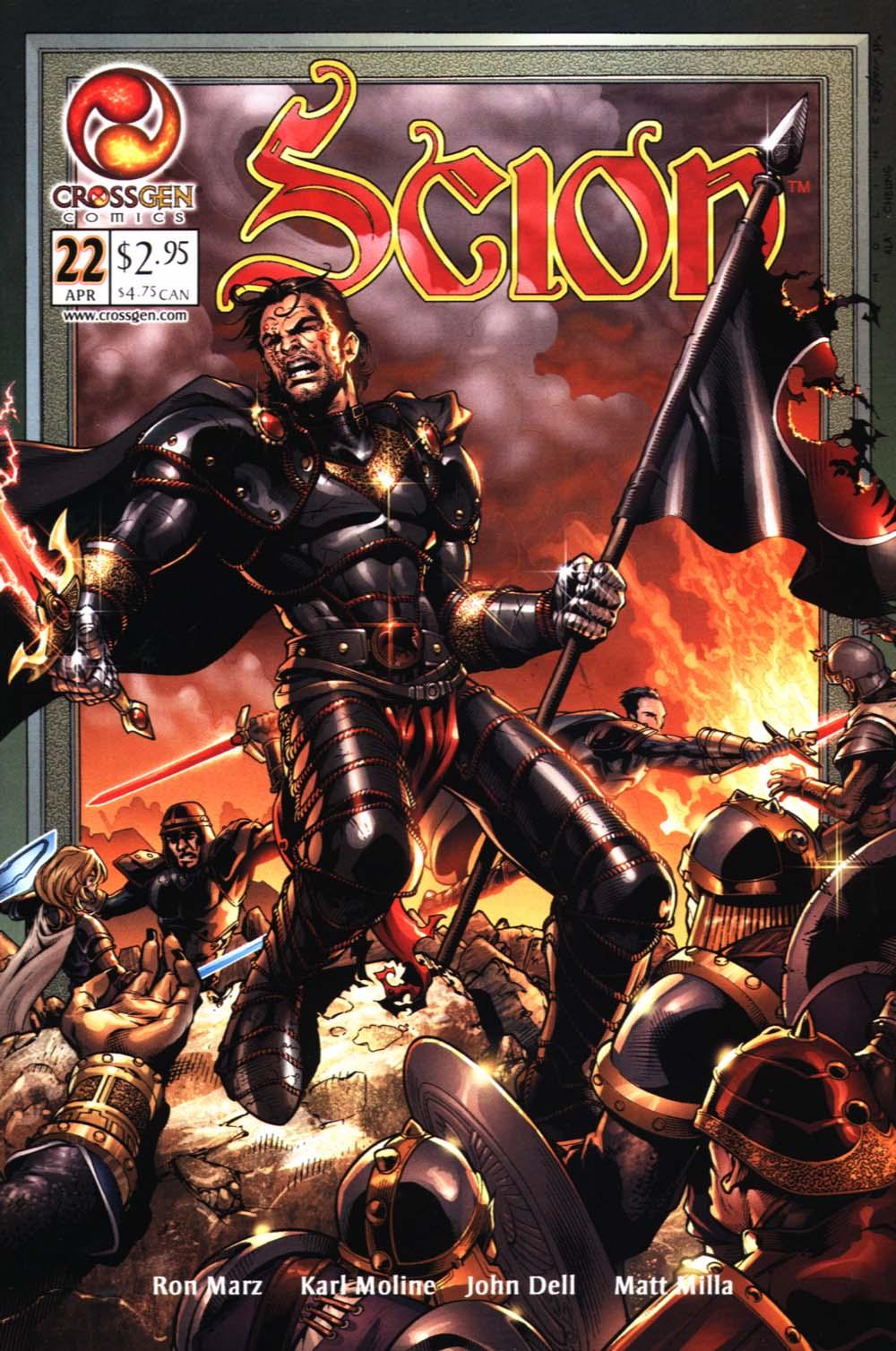 Read online Scion comic -  Issue #22 - 1