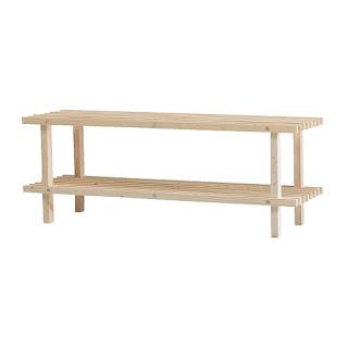 bL3kJoNs Stuff: Ikeas BABORD Shoe Rack