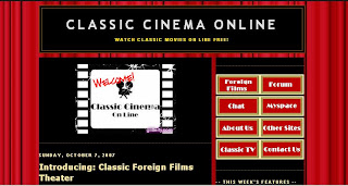 Joost number one in free internet TV not to be confused with classic cinema online.
