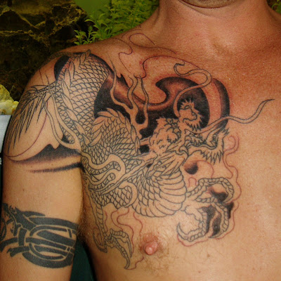 Dragon Tattoo on 20060621021255 Asian Dragon Tattoo  Uncomplete  Jpg