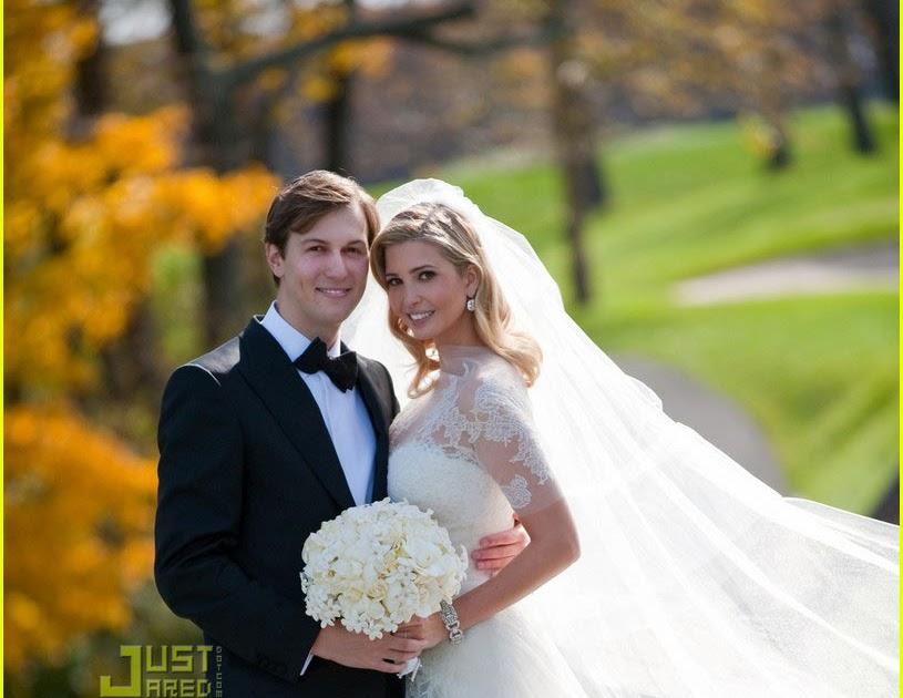 Ivana`s Corner: Ivanka Trump wedding photos