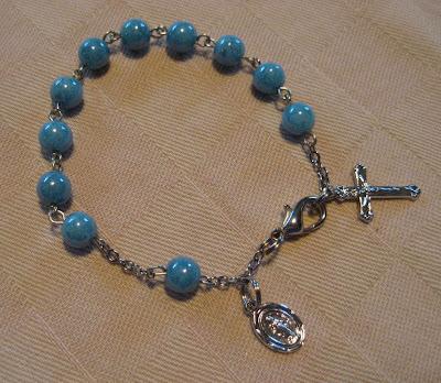 Rosary Bracelets for Rebecca