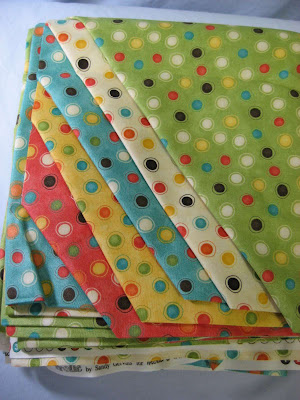 Frolic fabric for baby quilt