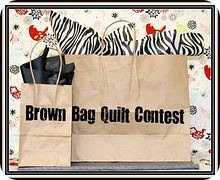 Brown Bag Quilt Contest