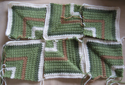 More Blocks for the Bernat Crochet-Along
