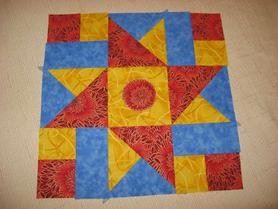 Layer Cake Quilt-Along Block One