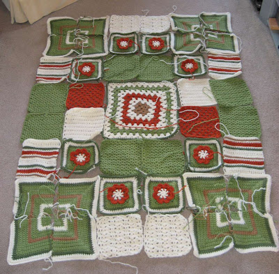Bernat Mystery Afghan Crochet-Along ~ All Blocks