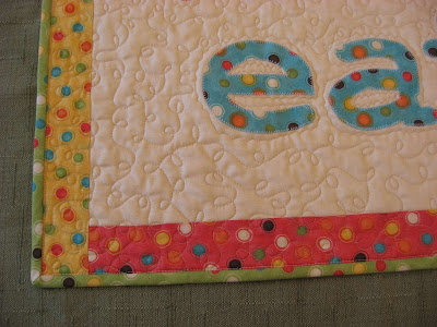 eat. play. sleep. repeat. quilt finally finished!