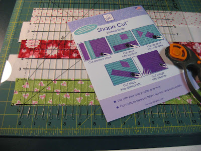Handy Helper for Quilting ~ Shape Cut Slotted Ruler