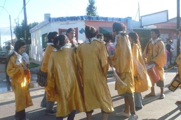desfile ..por las calles..