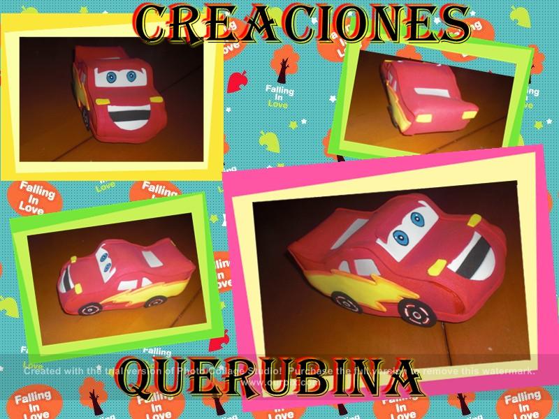 Creaciones Mon-hadas: dulceros de cars