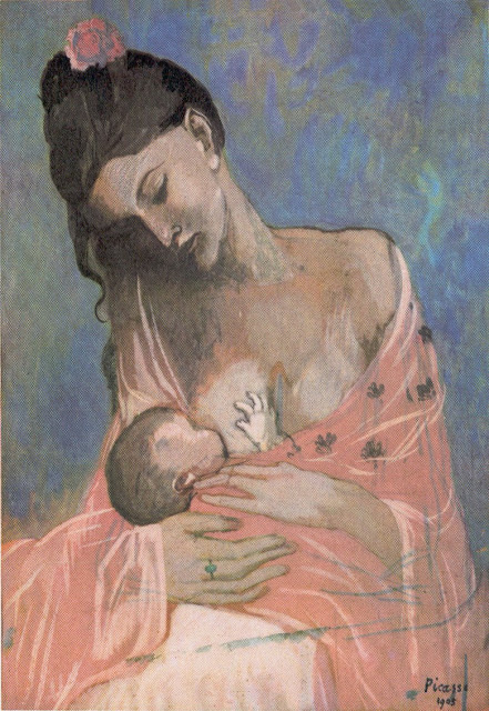 Emotions. - Page 3 Picasso+Maternidad+1905