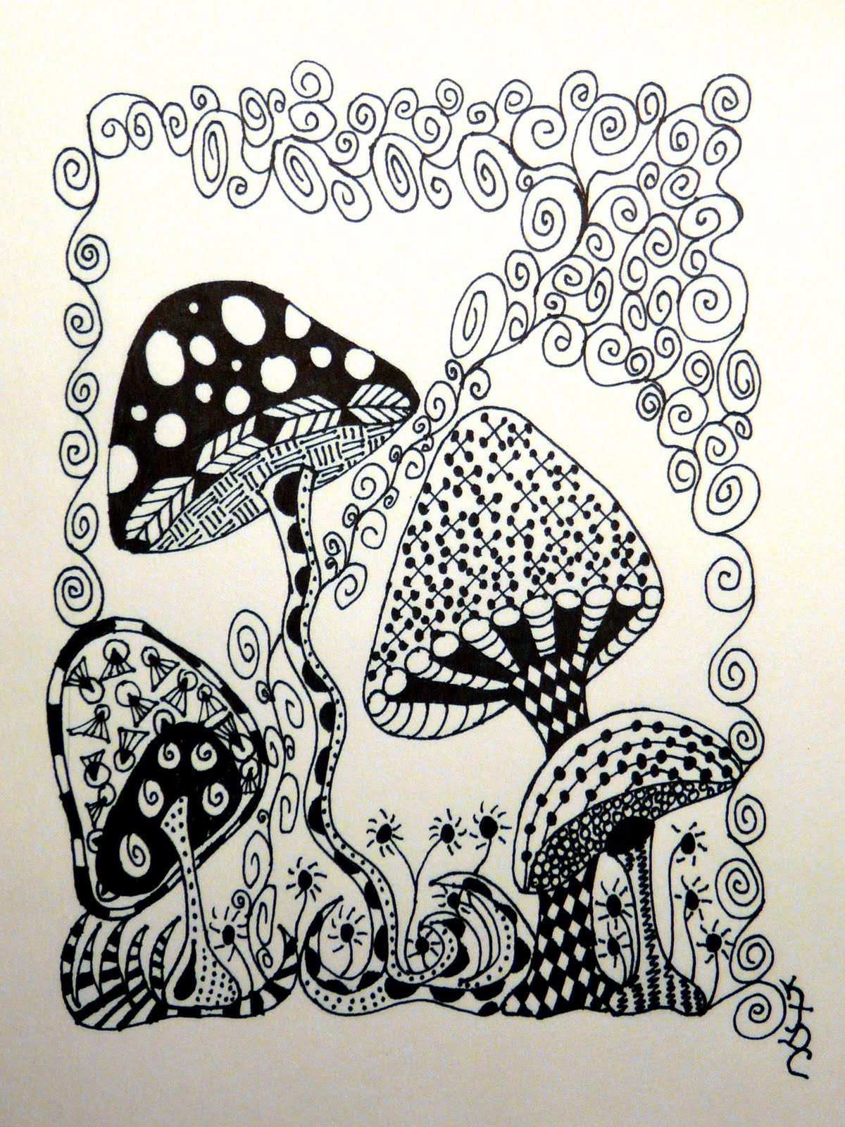 Displaying 19gt Images For Zentangle Turtle