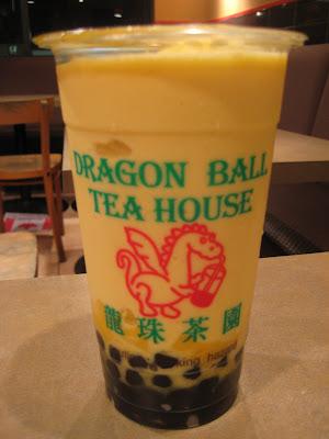 dragon ball tea