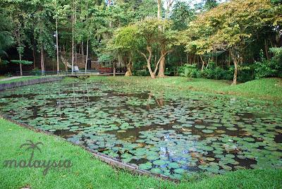 Sandakan War Memorial Park in Sabah
