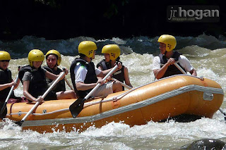 Water Rafting di Sungai Padas