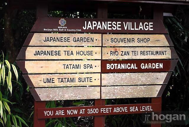 Japanese Garden at Berjaya Hills Resort