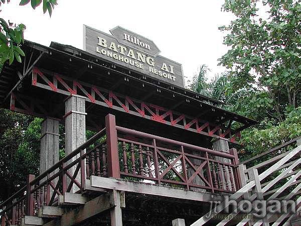 Batang Ai Hilton Longhouse Resort in Sarawak