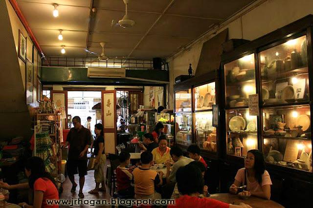 Cartoon Cafe Melaka Museum Cafe in Melaka