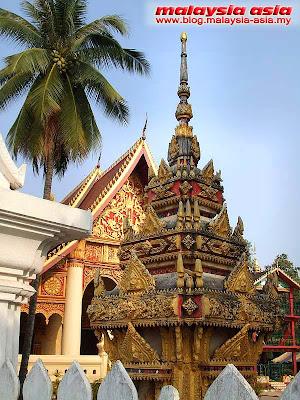 Vientiane Stupas in Laos