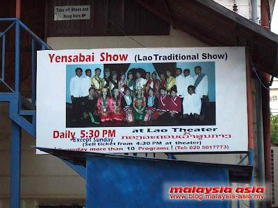 Traditional Lao Show Yensabai
