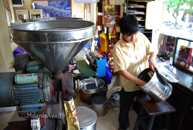 Grinding Weasel Coffee