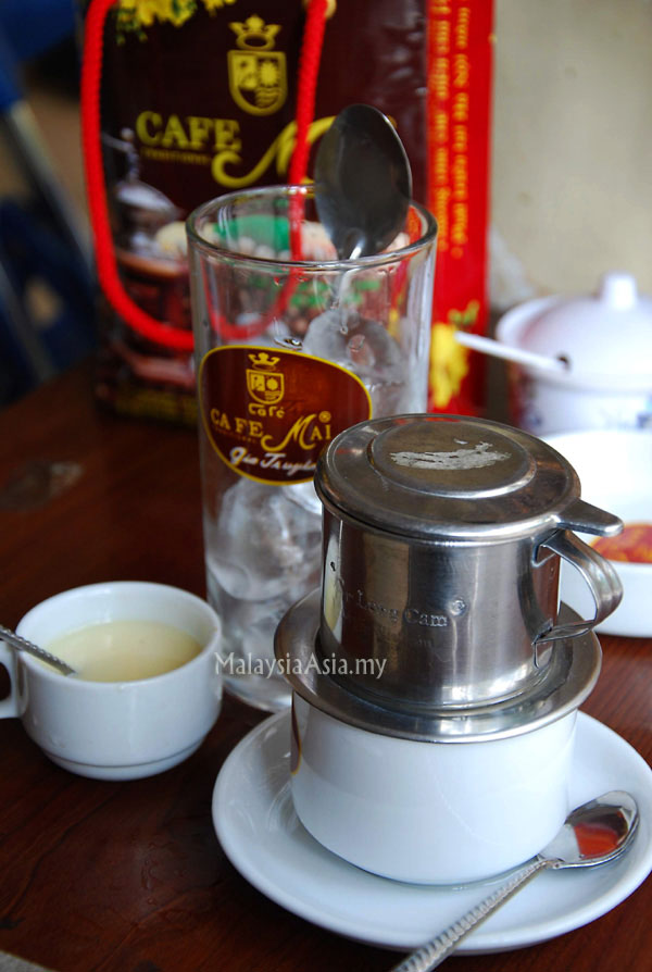 Weasel Coffee in Hanoi. Vietnam