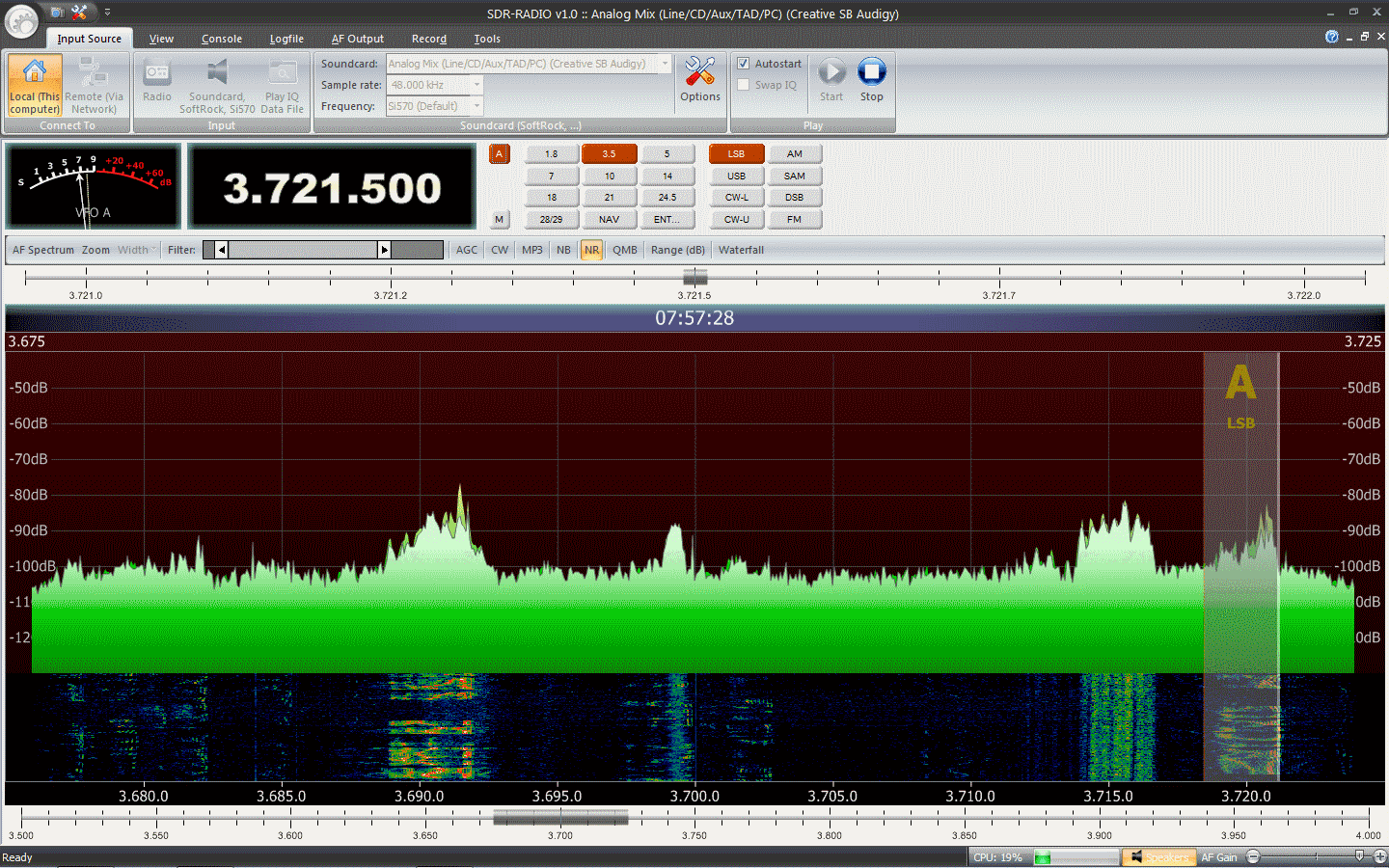 Software Defined Radio: SDR-RADIO