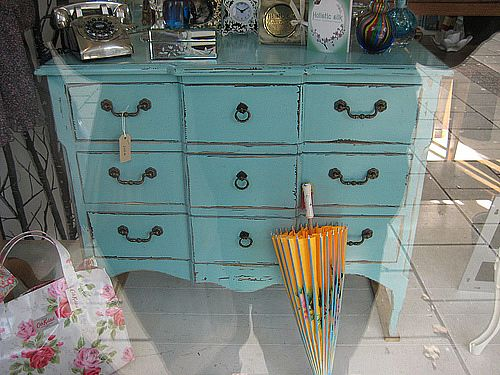 painted furniture via