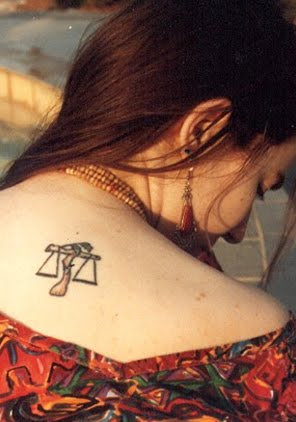 Libra tattoo designs Your zodiac sign is the largest part of your