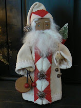 Another Quilt Coat Santa