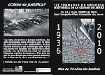 III JORNADAS DE MEMORIA HISTRICA DE LA CIUDAD DE JEREZ