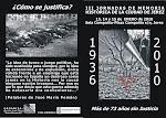 III JORNADAS DE MEMORIA HISTÓRICA DE LA CIUDAD DE JEREZ