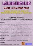 Las Mujeres Libres en Jerez: María Luisa Cobo Peña.