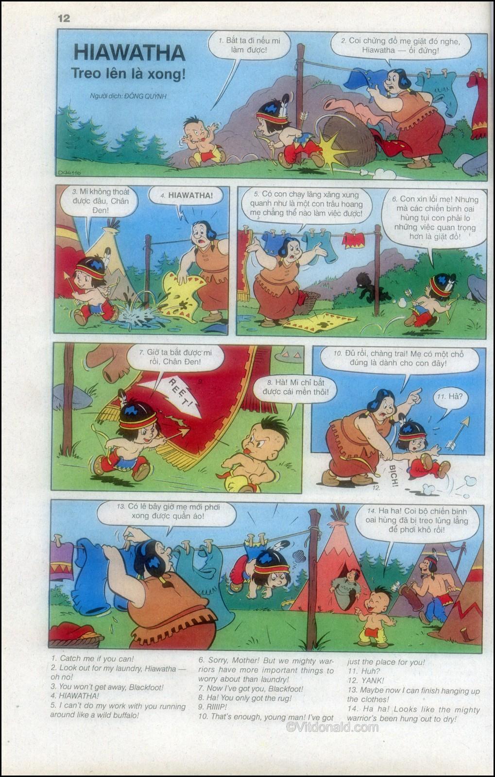 Donald và bạn hữu chap 82 - Trang 16
