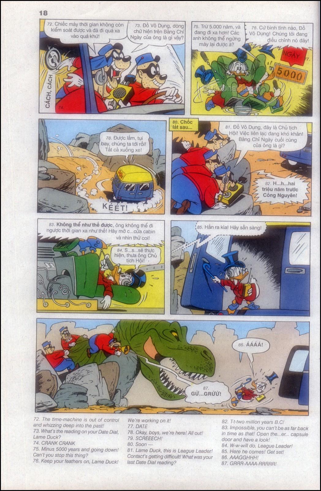 Donald và bạn hữu chap 82 - Trang 22